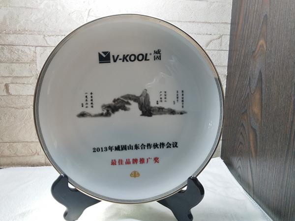 2013威固最佳品牌推广奖